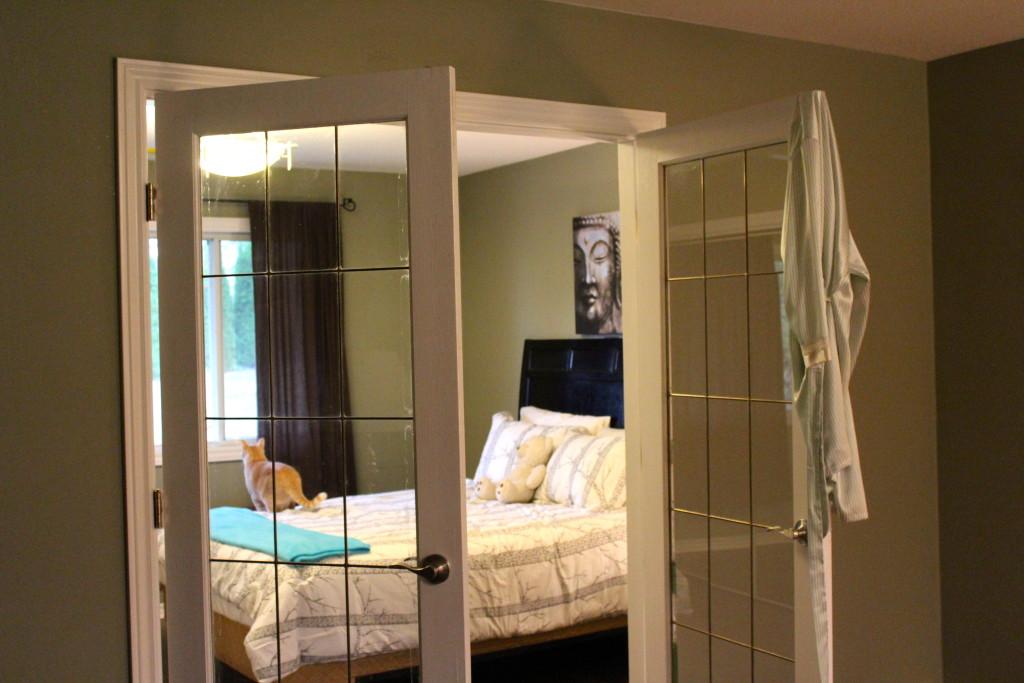 doors into bedroom