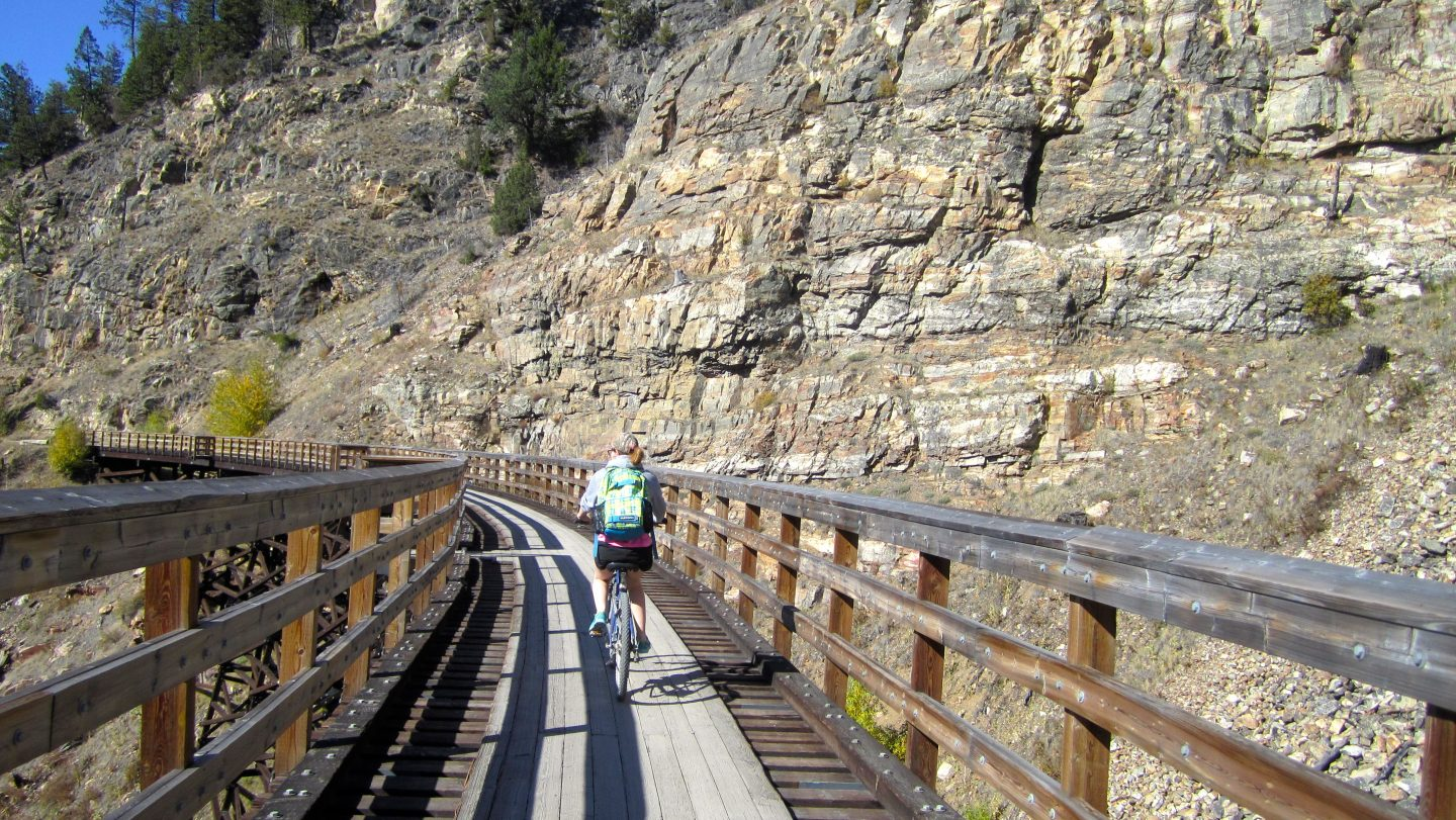 A day in the life: Myra Canyon